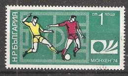 Bulgaria 1974  Football: World Cup, West Germany  (o) Mi.2326 - Gebraucht