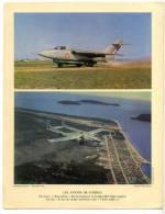 Héliogravure Aviation Vions De Combat Baroudeur Veuve Noire 1956 - Unclassified