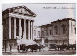 CP 10*15/S465/MONTPELLIER REPRODUCTION AU TEMPS JADIS LE PALAIS DE JUSTICE - Montpellier