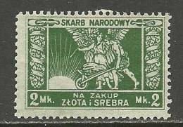 POLEN Poland Polska Old Stamp (*) - Ongebruikt
