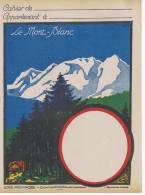 Mont Blanc Serie Provinces  La Savoie  Création Noversal Lyin Villeurbanne - Protège-cahiers