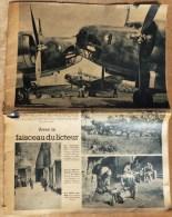 RARISSIME REVUE ALLEMANDE EN LANGUE FRANCAISE 1940- 36 PAGES- PHOTOS HISTORIQUES RARES- PROPAGANDE- PUB- FAITS DE GUERRE - Revues & Journaux