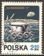 Poland 1971 Mi# 2122 Used - Lunokhod 1 / Space - Space