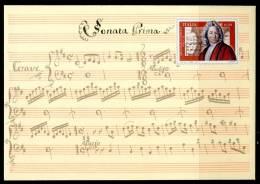 """ITALIA / ITALY 2013 - Compositore E Violinista Italiano """"Arcangelo Corelli"""" - Busta Postale - Musica"""