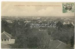 COCHINCHINE - SAIGON - N° 4 - PANORAMA DE SAIGON PRIS DES FLECHES DE LA CATHEDRALE - Vietnam