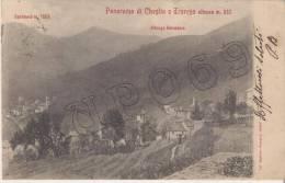 Varese - Panorama Di Cheglio E Trarego M. 810 - Varese