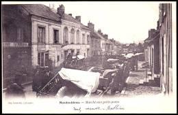 Mondoubleau -  Marché Aux Petits Porcs - Carte Animée - France