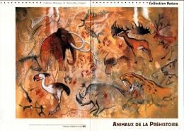 2008 - DOCUMENT OFFICIEL - ANIMAUX DE LA PREHISTOIRE - Documents De La Poste
