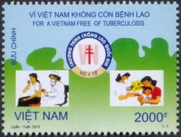 For A Viet Nam Free Of Tuberculosis - Vietnam New Issue 2012 - Jobs