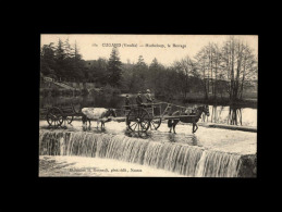 85 - CUGAND - Hucheloup, Le Barrage - 162 - Attelage Cheval - Andere Gemeenten