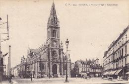 CPA - 76 - ROUEN - Place De L'église Saint Sever - 319 - Rouen