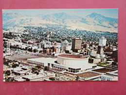 - Utah > Salt Lake City Aerial View Convention  Center   Not Mailed--- Ref 953 - Salt Lake City