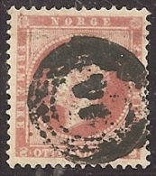 NORUEGA 1856 - Yvert #5 - VFU - Noruega
