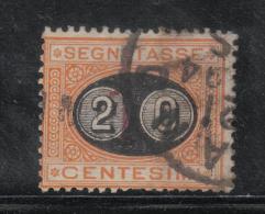 3RG29 - REGNO 1890, Segnatasse Il 20su1 Cent N. 18 - 1878-00 Humberto I