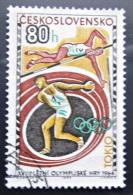 Briefmarke Tschechoslowakei Olympische Spiele Tokio 1964 - Summer 1964: Tokyo