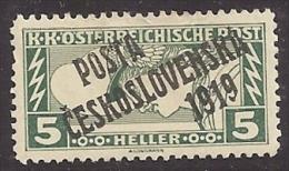CHECOSLOVAQUIA 1919 - Yvert #109 - MLH * - Checoslovaquia