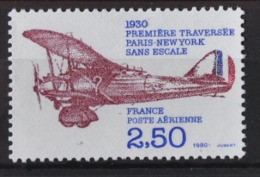 K 019 ++ FRANCE 1980 POSTE ARIENNE AIRMAIL AIRPLANE AVIATION LUCHTVAART VLIEGTUIG   MNH NEUF ** - Posta Aerea