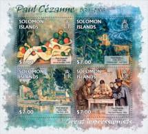 slm13204a Solomon Is. 2013 Painting Impressionist Paul Cezanne s/s Fruit