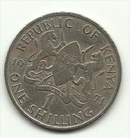 1971 - Kenia 1 Shilling, - Kenia