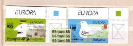 "Bulgarie 2008 Europe CEPT ""Writing Letters 2v.- Used - Europa-CEPT"