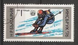 Bulgaria 1976  Winter Olympics, Innsbruck  (o) Mi.2463 - Bulgarien
