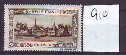 TIMBRE. VIGNETTE. BELLE FRANCE. LOIRE.............SAUMUR - Tourism (Labels)