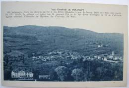 71 : Vue Générale De Sologny - Gare De Chemin De Fer De La Croix-Blanche - Eglise Romane - ... - Other Municipalities