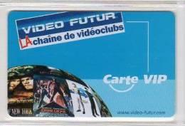 Video Futur - Carte Privil�ge  V. I . P -  Rare et NEUVE