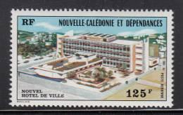 New Caledonia MNH Scott #C135 125fr New City Hall, Nourmea - Poste Aérienne