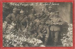 SAARBRÜCKEN - Carte Photo Militaie Allemande - Foto - Inf. Reg. 70 - Soldaten - Guerre 14/18 - Saarbrücken