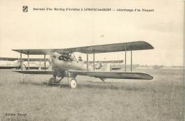 21 LONGVIC LES DIJON - Souvenir D´un Meeting D´Aviation - Atterrissage D´un Nieuport - France