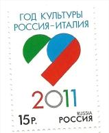 2011 - Italia Congiunta Scambio Culturale - Russia - 6. 1946-.. Repubblica