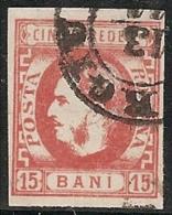 RUMANIA 1869 - Yvert #23 - VFU ¡¡¡RARE!!! - 1858-1880 Moldavia & Principado