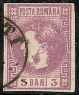 RUMANIA 1868/70 - Yvert #18 - VFU ¡¡¡RARE!!! - 1858-1880 Moldavia & Principado