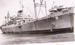 U.S.S. President Jackson - PA18  (HV) Militär-Schiff Um 1952 (Truppentransporter) - Bateaux