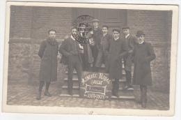 Athénée Royal Arlon - Rhétorique 1907 1908 - Carte Photo - Photographie Artistique Gavroy, Habay La Neuve - Arlon