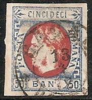 RUMANIA 1869 - Yvert #25 - VFU ¡¡¡VERY RARE!!! - 1858-1880 Moldavia & Principado