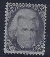 USA 1863/66 - Yvert #27 - MLH * - 1847-99 General Issues