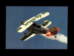 AVIONS - Biplan - Pub Seven Up - Avion De Tourisme - 1946-....: Moderne