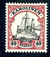 (1150)  Caroline Is 1900  Mi13  Mint*~ (michel €1,70) - Colonia: Isole Caroline