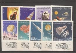 Espace ( 58/66 Non Dentelés Xxx -MNh- Avec Bords De Feuille Illustrés De Mahra à Voir) - Asie