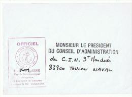MARINE NATIONALE Le Capitaine De Vaisseau Commandant Le F L E  DUQUESNE - Boten