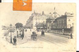 PARIS - Le Quai D'Orsay Et La Gare D'Orléans , Voir Scan - Métro Parisien, Gares