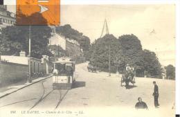 LE HAVRE - Chemin De La Cote , Bon état ( Voir Scan )Funiculaire - Le Havre