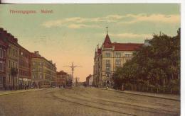 4-Malmo-Svezia-Sverige-Suède-Sweden-Tram-Tramvai-Tramway-Streetcar-v.1936 X Paris-France - Suède