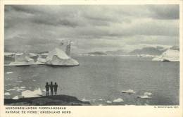 Réf : BO-13-077 : Nordgronlandsk Fiord Groenland - Greenland