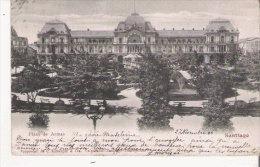 PLAZA DE ARMAS SANTIAGO  89643       1906 - Chili