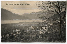 CARTOLINA MACCAGNO INFERIORE VARESE LOMBARDIA - Varese