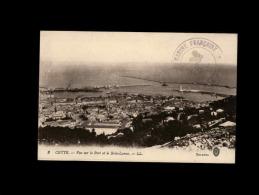 34 - CETTE - Vue Sur Le Port Et Le Brise-Lames - 3 - Cachet Marine Française - Sete (Cette)