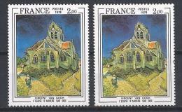 HH--702. N° 2054, NUANCE !!!  , * * , VOIR CIEL &  EGLISE - Varieteiten: 1970-79 Postfris